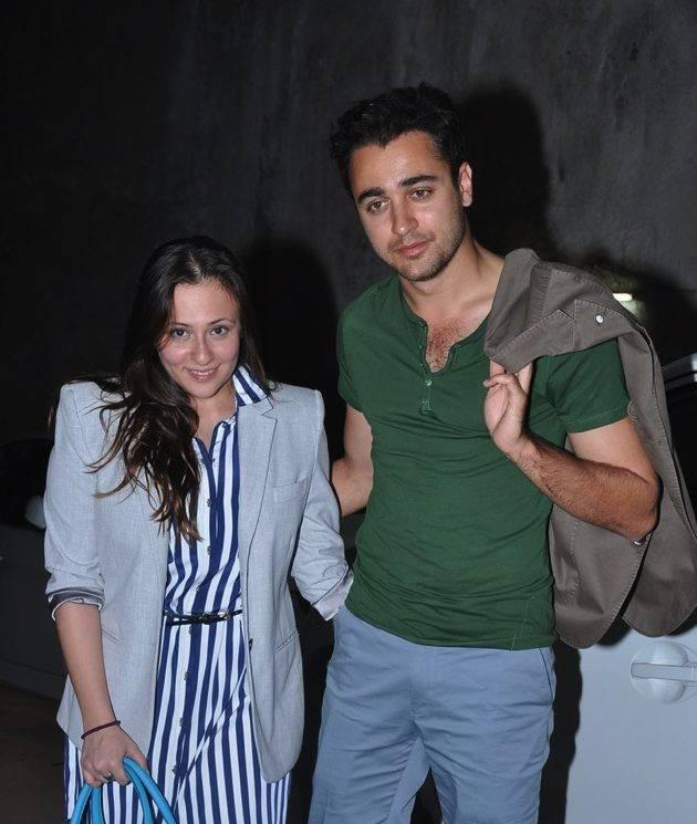 Imran Khan and Avantika Attended The Hollywood Flick Special Screening