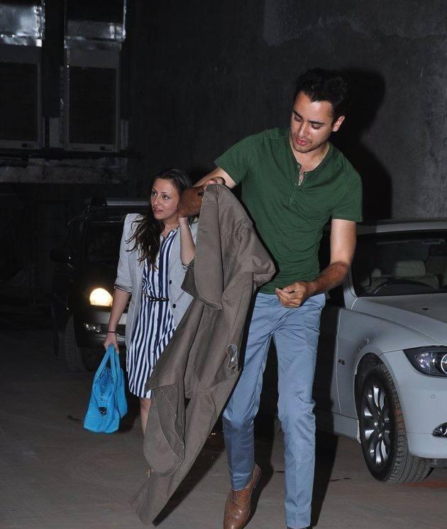 Imran Khan,Avantika Malik Spotted At The Screening Of The Hollywood Movie Star Trek-Into Darkness