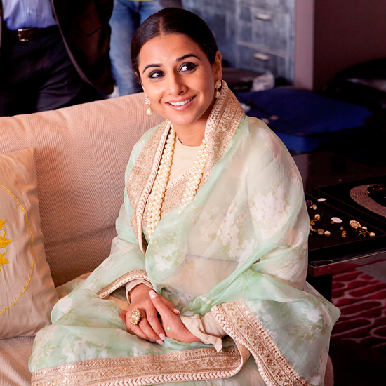 Smiling Vidya Balan Beautiful Look Still