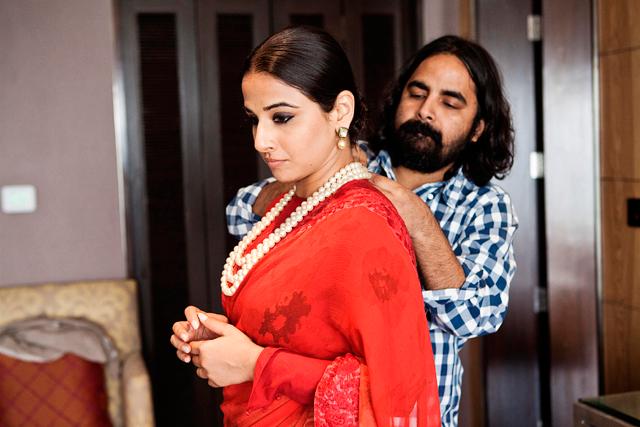 Vidya Balan Dressed Up By Jewellery Designer Pankaj Surana Still