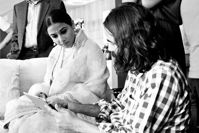 Vidya Discussed With Jewellery Designer Pankaj Surana Photo