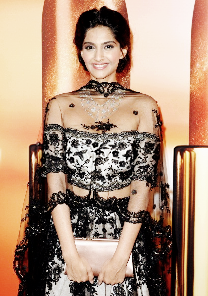 Sonam Kapoor Sizzles At The Chopard Party At Cannes 2013