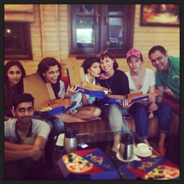 Jacqueline Fernandez's Instagram Photo With Friends