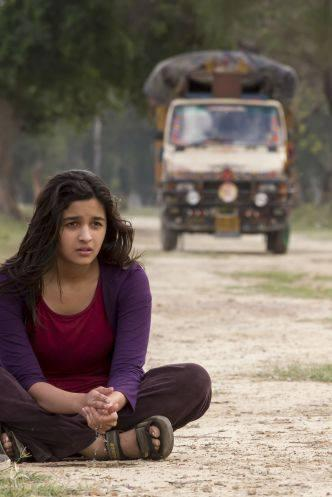 Bollywood's Latest Sensation Alia Bhatt On The Sets Of Highway