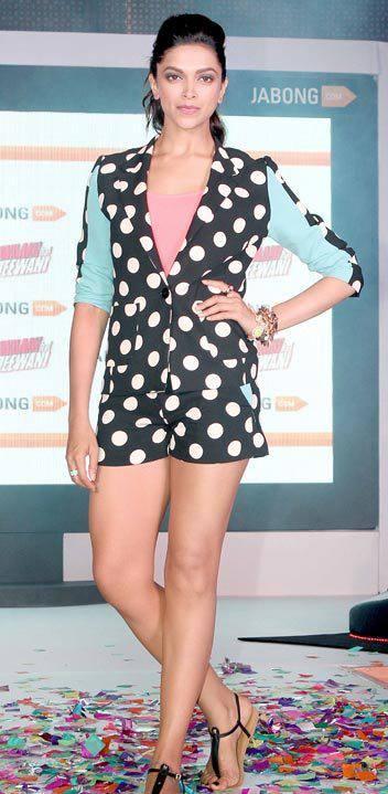 Yeh Jawaani Hai Deewani Promotional Event Deepika Pic