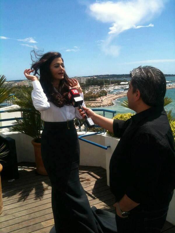 Aishwarya Rai Bachchan At A Media Call At Cannes Film Festival