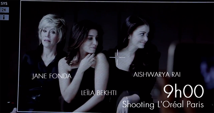 Aishwarya Rai Bachchan Sexy L' Oreal Cannes Photo Shoot