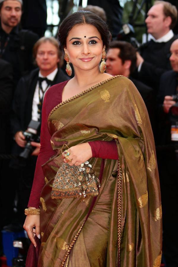 Vidya Ravishing And Beautiful Look At Inside Llewyn Davis Premiere At Cannes Film Festival