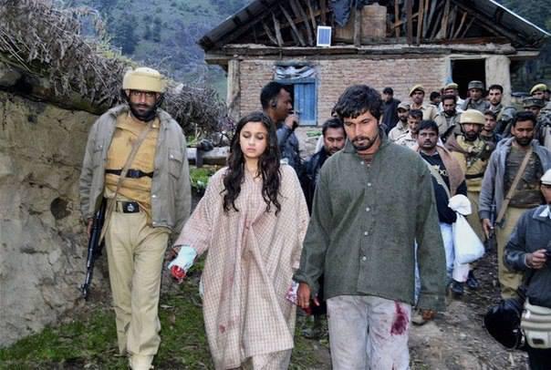 Alia Bhatt, Randeep Hooda shoot for Highway in Kashmir
