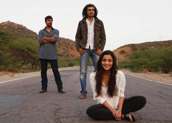 Alia,Imtiaz And Randeep Hooda Spotted At Aru Valley For Highway Shooting