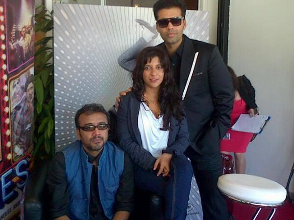 Zoya,Dibakar And Karan Johar At Cannes Film Festival 2013 For Bombay Talkies