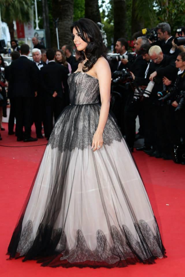 Mallika Sherawat Walk On Red Carpet At 66th Cannes Film Festival 2013