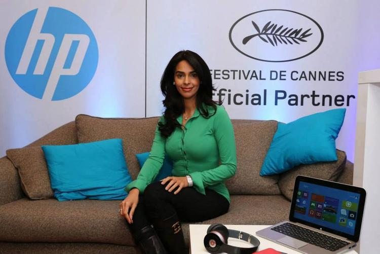Mallika Sherawat At Variety Studio Portrait Session For HP Brand Tab Launch