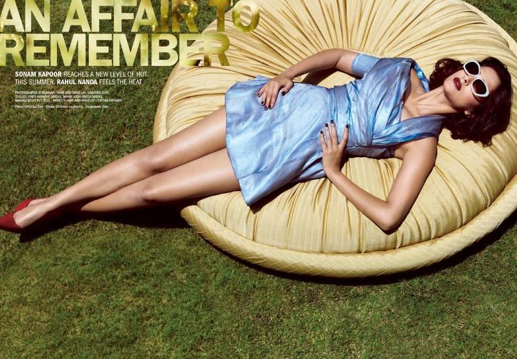 Sonam Kapoor On The Cover Of Filmfare Magazine