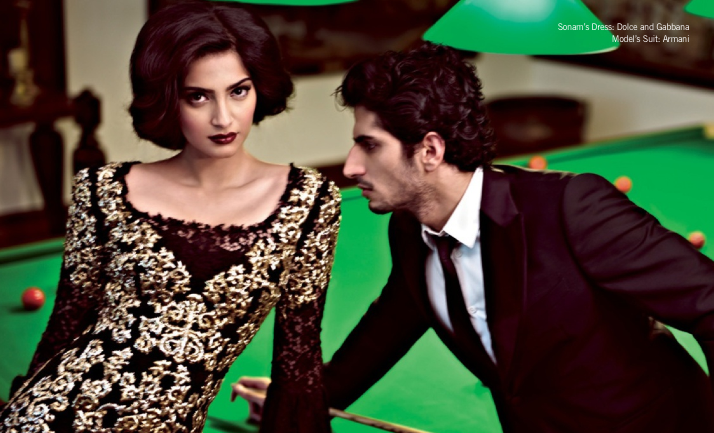 Sonam Kapoor Latest Charming And Spicy Look Photo Shoot For Filmfare Magazine