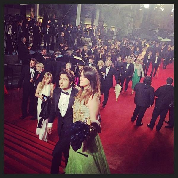 Ali Zafar And His Wife Ayesha Fazli Walks On Red Carpet At Cannes Film Festival 2013