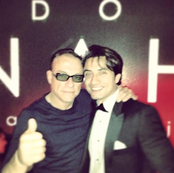 Ali Zafar Spotted With Van Damme At Cannes 66th Film Festival