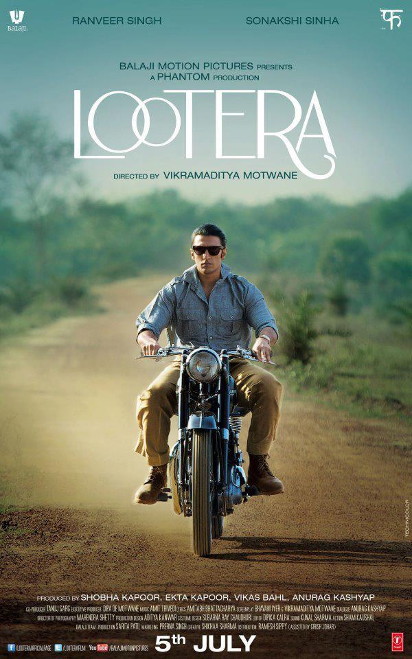 Lootera First Look Poster With Ranveer Singh As Varun
