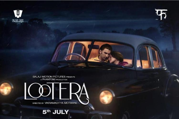 Ranveer Singh And Sonakshi Sinha Romantic Movie Lootera Poster