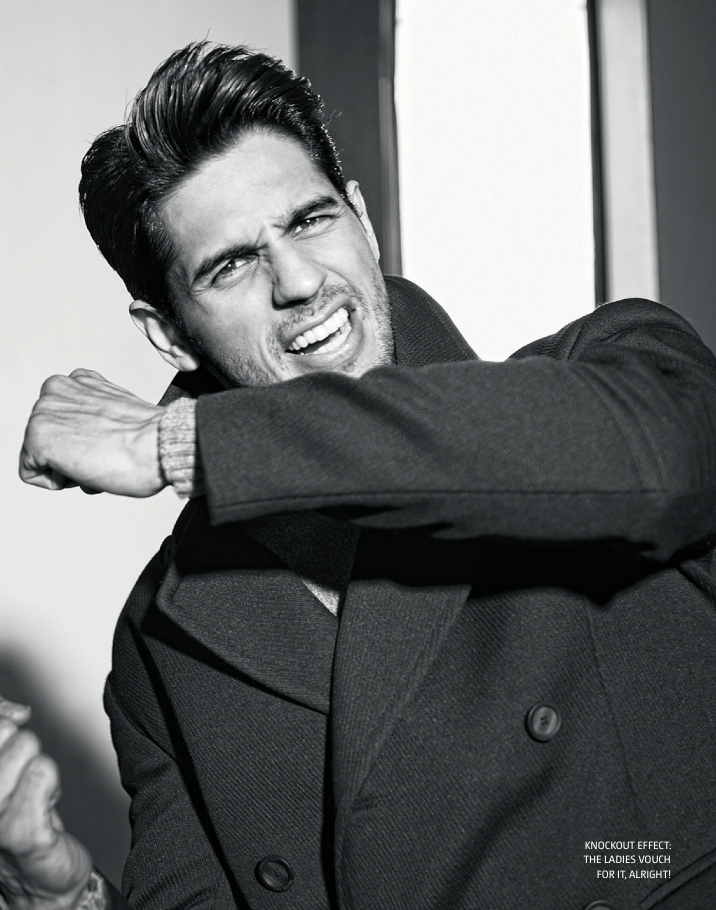 Sidharth Malhotra Cool Look Photo Shoot For Filmfare June 2013