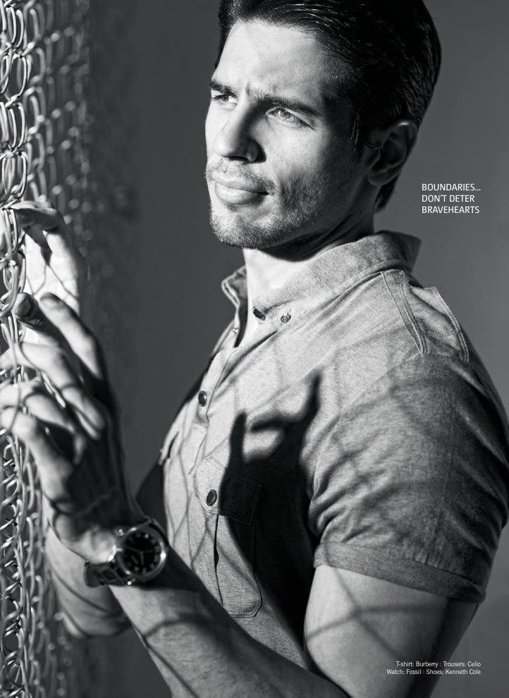 Sidharth Malhotra Dazzling Face Look Photo Shoot For Filmfare June 2013