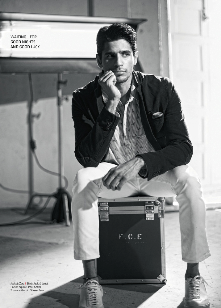 Sidharth Malhotra In Deep Thought Look Photo Shoot For Filmfare June 2013