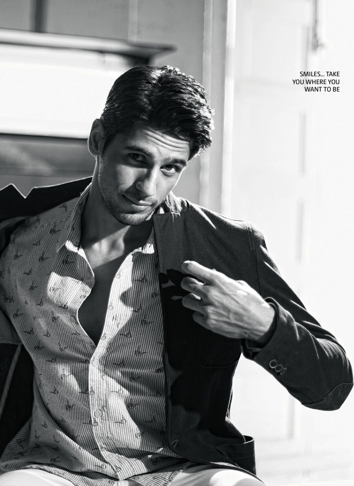 Sidharth Malhotra Handsome Look Photo Shoot For Filmfare June 2013