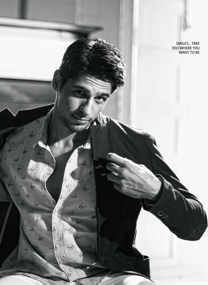 Sidharth Malhotra Handsome Look Photo Shoot For Filmfare June 2013