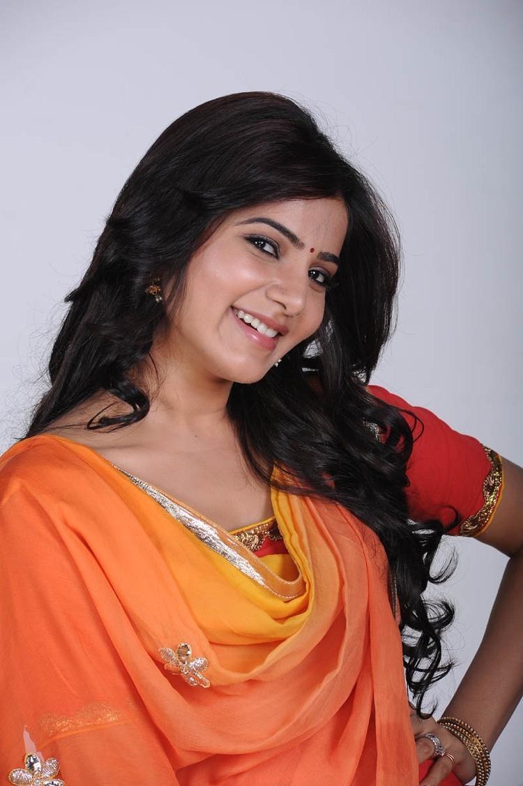 Samantha Ruth Prabhu Charming Face Look Beautiful Photo Still