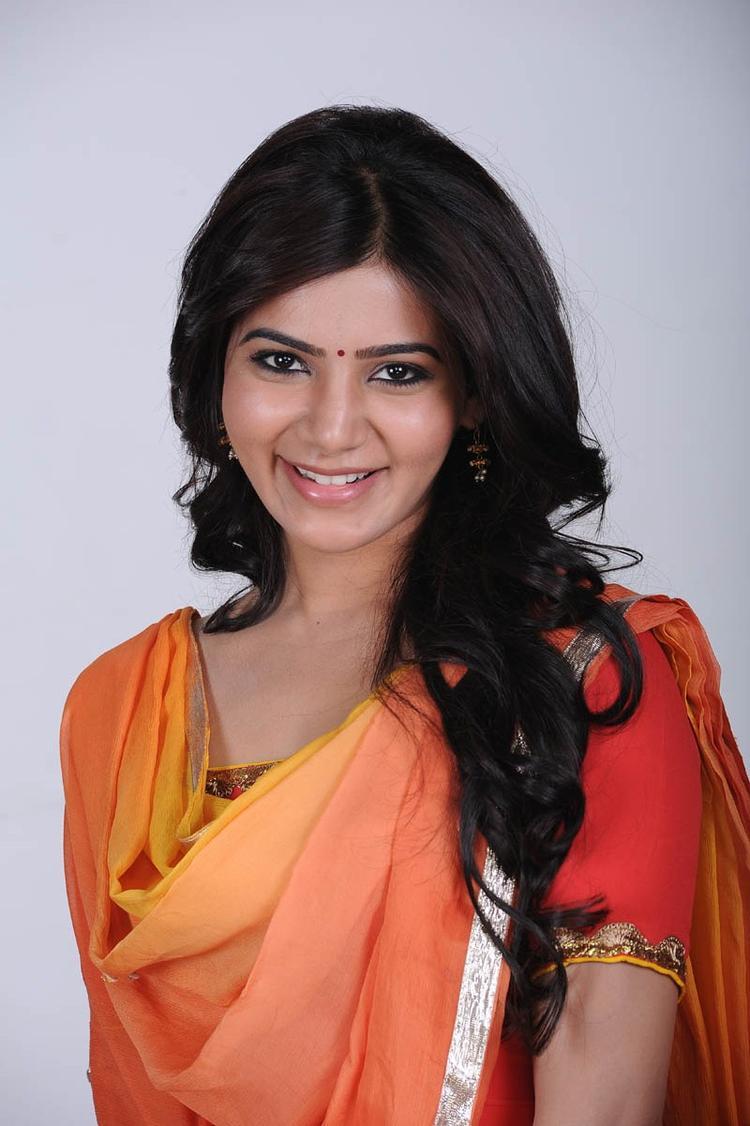 Samantha Ruth Prabhu Cute Smiling Still