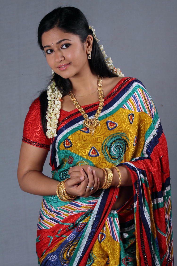Poonam Bajwa Traditional Look Photo Still