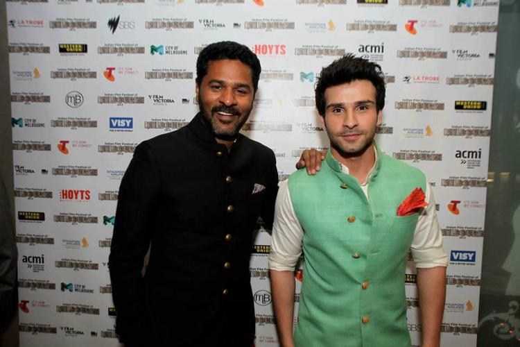 Prabhu And Girish Cool Posed At Indian Film Festival 2013 Opening In Melbourne
