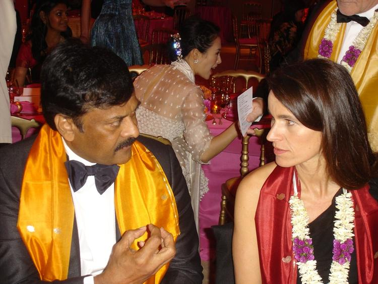 Mega Star Chiranjeevi At Cannes Film Festival 2013 For Inside Llewyn Davis Screening