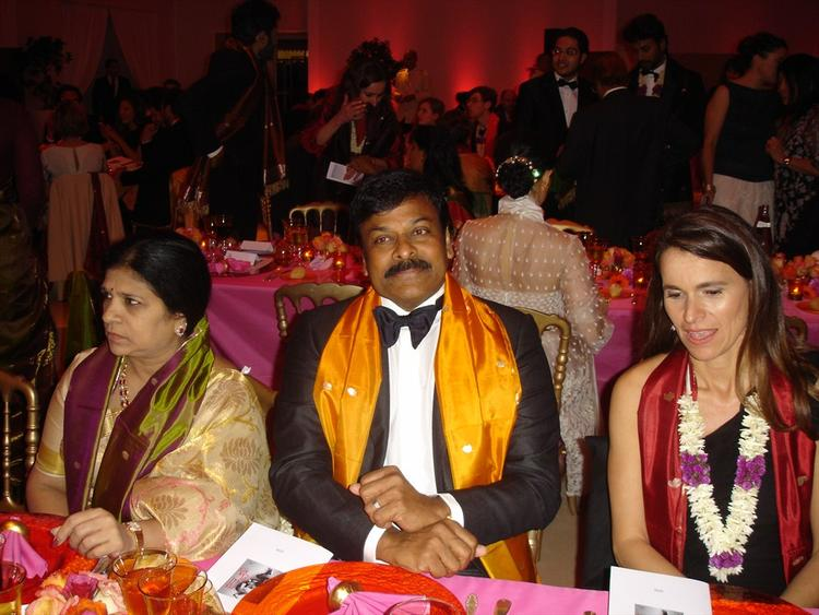 Mega Star Chiranjeevi With His Wife Surekha At Cannes 66th Film Festival 2013
