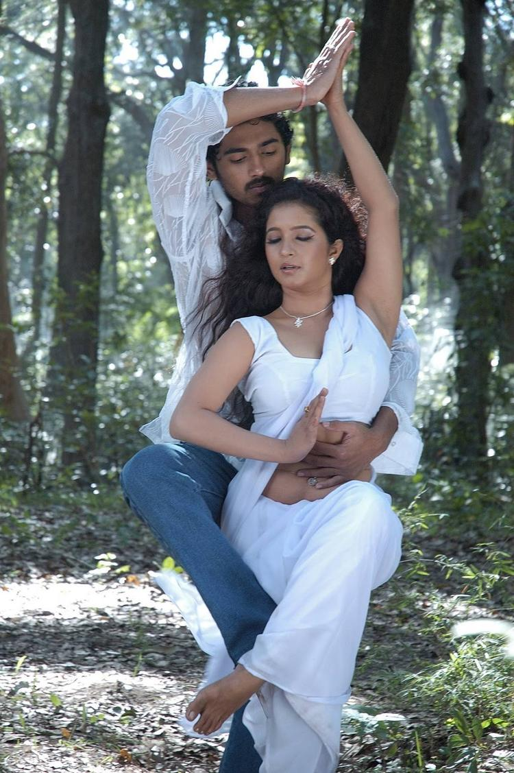 Sandeep And Shubha Punja Hot Pose Still In Mamatha Darling Movie