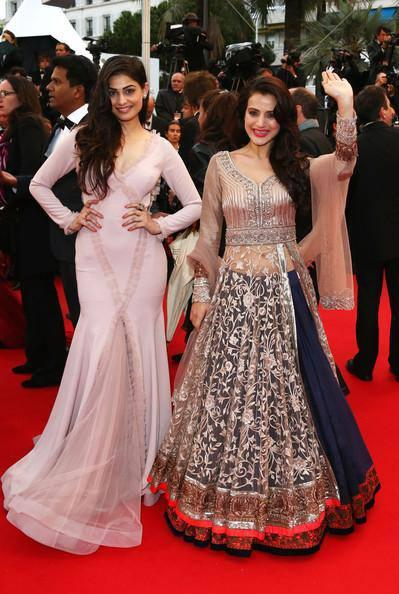 Ameesha Patel And Puja Gupta Attend The Screening Of All Is Lost At The Cannes Film Festival