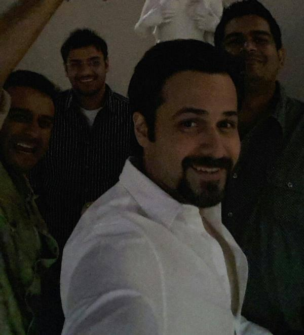 Bollywood Actor Emraan Hashmi Smiling Pic At Vegas