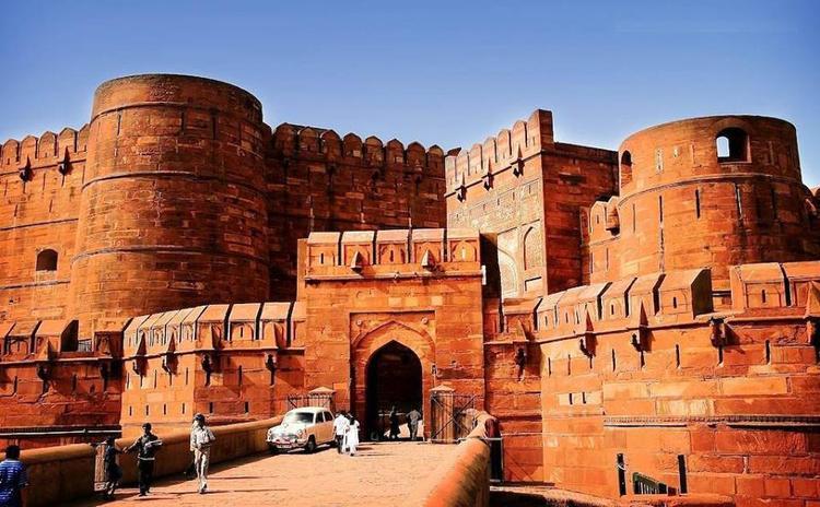 Amazing Still Of Lal Qila Or Red Fort In Delhi