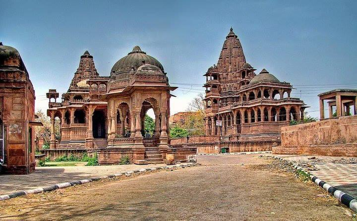 Mandore Garden Is One Of The Famous Gardens Of Jodhpur At Rajasthan