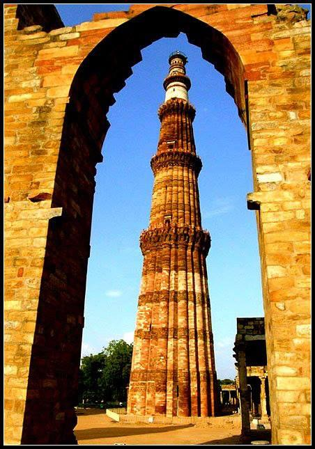 Qutub Minar Is The World's Tallest Minaret And A Popular Tourist Spot