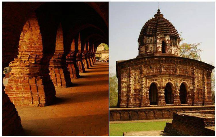 Terracotta Temples Looking So Beautiful In This Photo