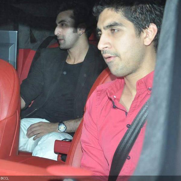 Ranbeer Kapoor Spotted At  Karan Johar's Birthday Party