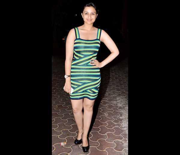 Sizzling Parineeti Chopra Sexy Look At Karan Johar's Birthday Bash