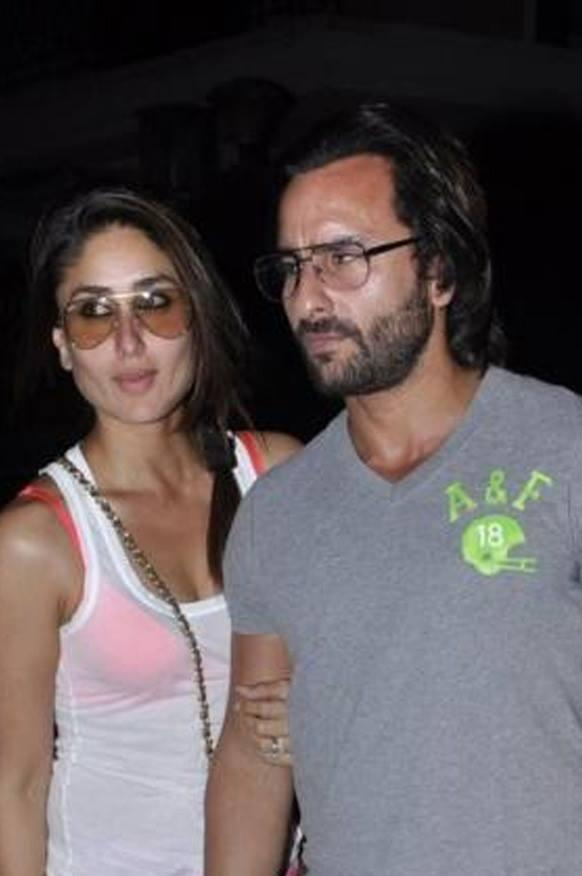 Saif And Kareena Snapped At Kunal Khemu Birthday Bash Hosted By Soha