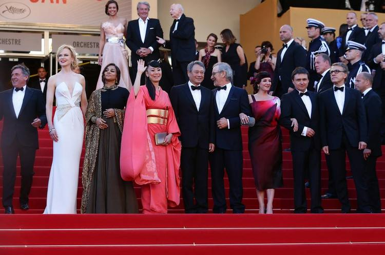 Vidya Balan Present At The Cannes 2013 Closing Ceremony
