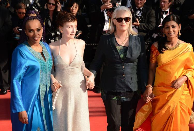 Maji-da,Nicoletta,Jane And Nandita Attend Zulu Premiere And Closing Ceremony During The 66th Cannes Film Festival