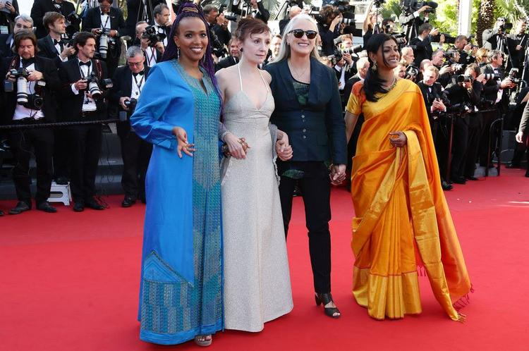 Maji-da,Nicoletta,Jane And Nandita Graced In Red Carpet At Zulu Premiere And Closing Ceremony During The 66th Cannes Film Festival
