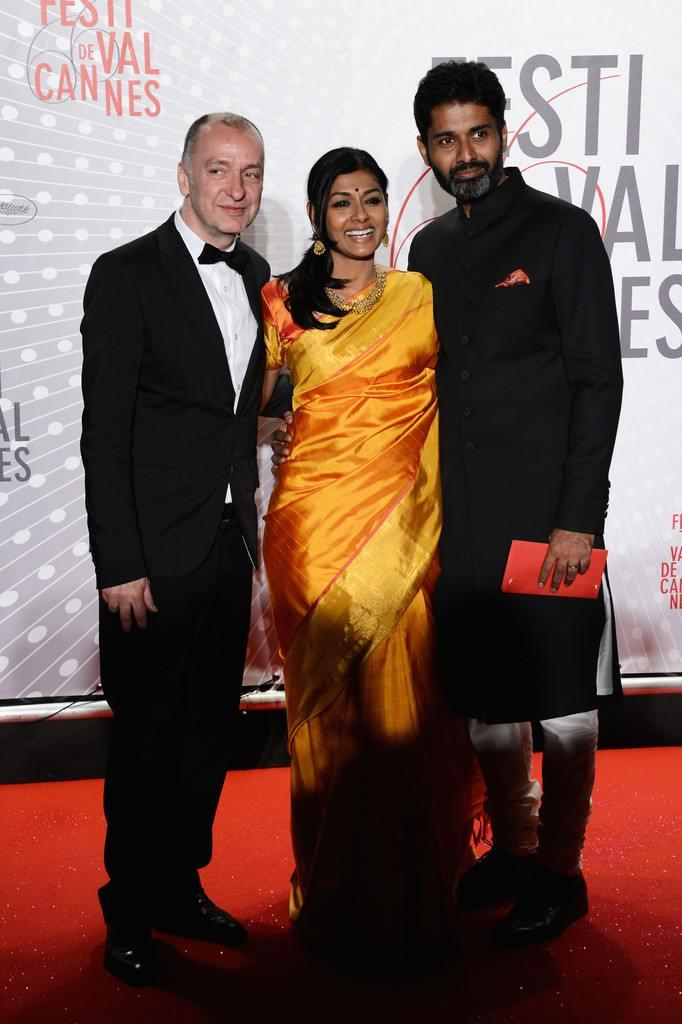 Nandita With Hubby Subodh At The Cannes 2013 For Attend The Palme D'Or Winners Dinner
