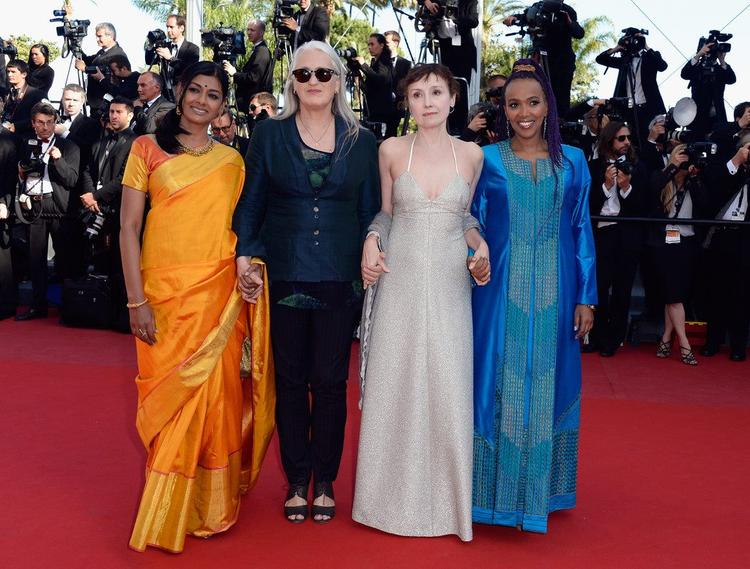 Nandita,Jane,Nicoletta And Maji-da Posed In Red Carpet At Zulu Premiere And Closing Ceremony During The 66th Cannes Film Festival