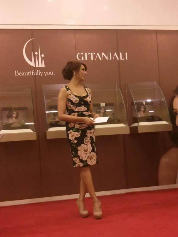 Bipasha Basu In Dolce And Gabbana Dress At Gili Jewellery Launch Event